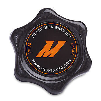 Mishimoto Carbon Fibre 1.3 Bar High Pressure Radiator Cap - Small
