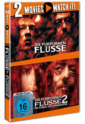 Die Purpurnen Flüsse 1 + 2 # 2 Movie Watch it - 2 DVD Box