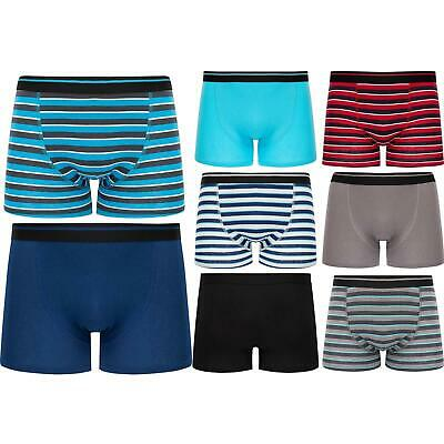 6 or 12 Boys Boxer Shorts Super Quality Underwear Ages 2-14+ Cotton & Lycra