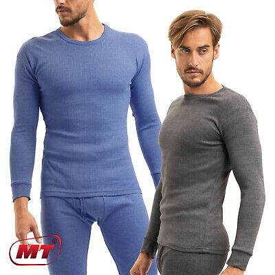 MT® Herren Thermo Unterhemd Thermohemd langes Thermounterhemd Thermowäsche M-3XL