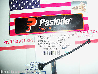 """NEW"" Paslode Part # 403156  Lanyard"