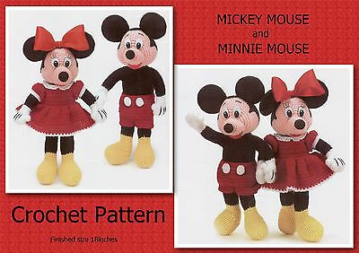 Free patterns for mickey and minnie mouse hats joy studio design