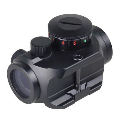 New Tactical Red Green Dot Sight Scope w/ 20mm Weaver Rail Mount