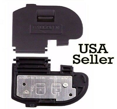 Canon 40D 50D Replacement BATTERY COVER/DOOR - New, Good Quality, Snaps on, Easy