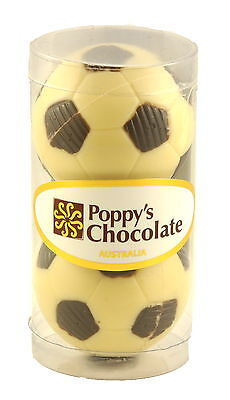 Poppy's Chocolate Soccer Ball 2 in cylinder
