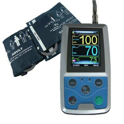 24Hr Ambulatory Digital Blood Pressure Monitor,Holter NIBP CONTEC ABPM+3 cuff,CE