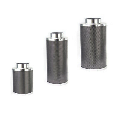 """Hydroponics Air Activated Carbon Filter - Available in (4"""" 6"""" 8 """"10"""" 12"""")    Odo"""