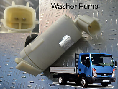 Windscreen Washer Pump Fits Nissan Cabstar 2007 through to 2014