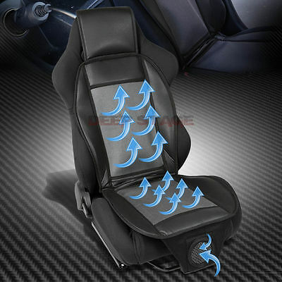 Cooling Air/wind Breathing Car/truck/auto Nylon Seat Cover/cushion+12-Volt Fan