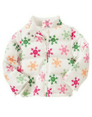 NWT Gymboree Cheery All the Way Puffer  Coat Jacket  S(5-6),M(7-8),L(10-12)