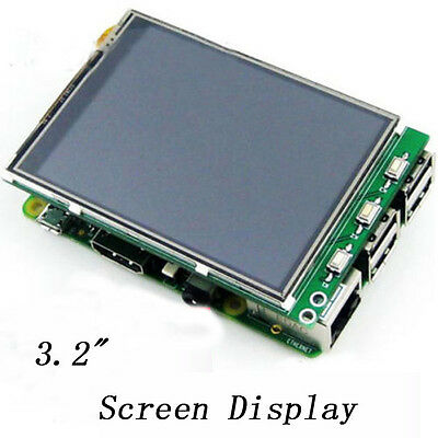 "3.2"" TFT LCD Module Touch Screen Monitor Display for Raspberry Pi B/B+ dll"