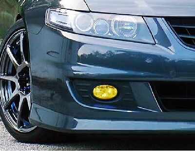 04-08 Acura TSX Yellow Fog light JDM TINT PreCut Vinyl Film Overlays