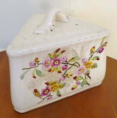 Antique Ceramic  Cheese/butter  Cover-Franz A.mehlem-Germany Late 1800`s