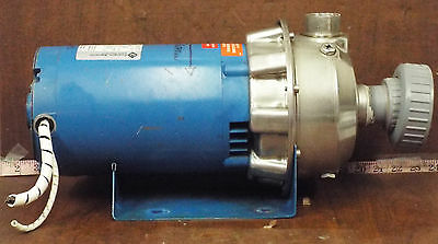 1 Used Goulds 2St1G2D3 1-1/4X1-1/2-6 Centrifugal Pump *Make Offer*