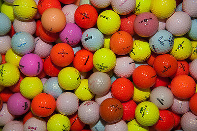 100 Mixed Colour Golf Balls # Clearance SALE #