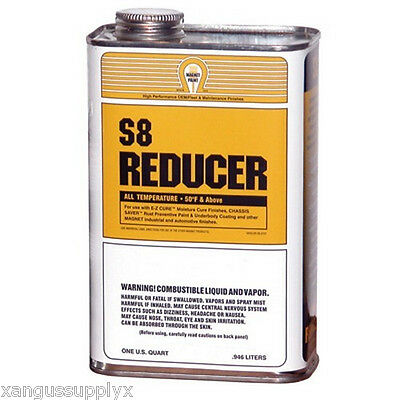 Magnet Paint S8-04 Chassis Saver Frame Paint Thinner S8 Reducer 1 Quart