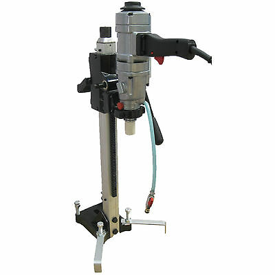 Hand Held 3 Speed Diamond Core Drill with Stand