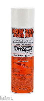Clippercide Trimmer Clipper Disinfectant Spray  ( now 25% more -15 oz.)