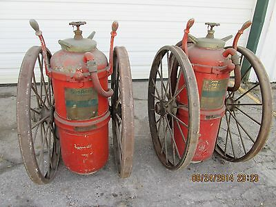 Antique SodAcid Fyr-Fyter Fire Extinguisher