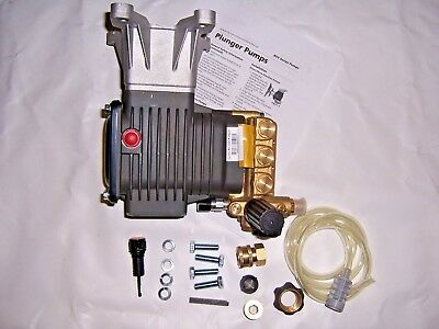 "Rsv4G40 Ar Annovi Revereri Pressure Washer Pump 4000Psi 4Gpm 1"" Horizontal Shaft"