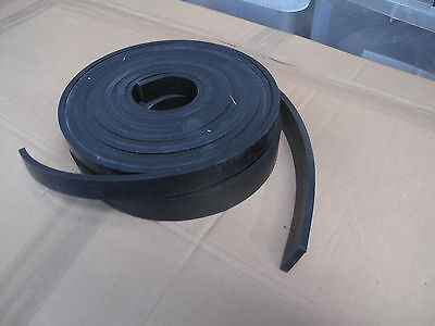 Solid Neoprene Rubber Strips Various Sizes Available ,5Mtr Lengths