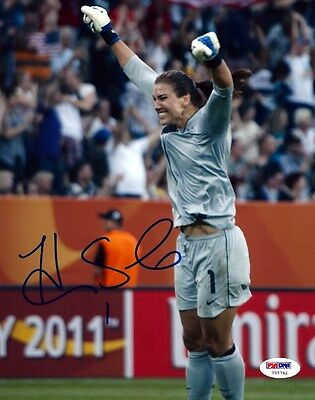 HOPE SOLO AUTOGRAPHED SIGNED 8X10 PHOTO TEAM USA PSA/DNA STOCK #64844