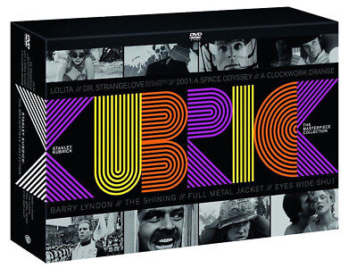 Stanley Kubrick (10 Dvd + Libro Fotografico) The Masterpiece Collection