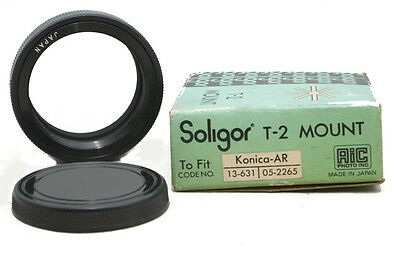 Soligor T-2 Mount To Fit Konica-AR K-AR Made In Japan
