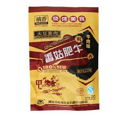 10X20g 200g Chinese Specialty Snacks Gluten Food fragrant mushroom beef  禛香香菇肥牛