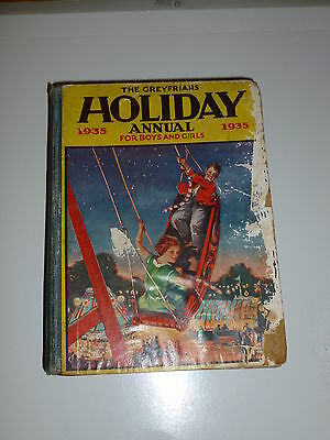 THE GREYFRIARS HOLIDAY ANNUAL for Boys & Girls - Date 1935 - UK Comic Book