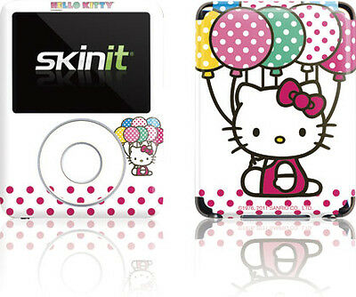 Hello Kitty With Balloons Apple iPod Nano (3rd Gen) 4GB/8GB Skin