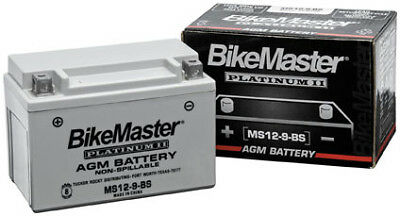 BikeMaster AGM Platinum II Battery MS12-30L-BS 78-0728