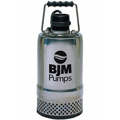 BJM Submersible Water Pump R400-115 2-inch Discharge 66 GPM 304SS Motor Housing