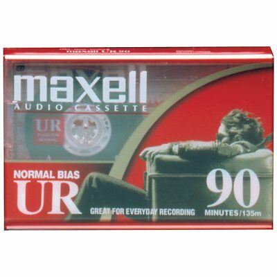 Maxell Ur Type I Audio Cassette - 1 X 90minute - Normal Bias (108510)