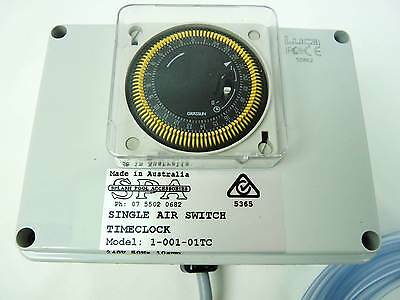 Compu Pool Air Switch Controller 15amp Single Socket with Built in 24hr Timer