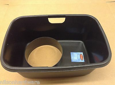 Ice Auger Slush Bucket Ice Buddy Fish House Hole Cover Water Chip Catcher