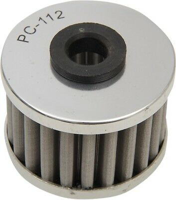 PC Racing FLO Drop In Stainless Steel Oil Filter PC112 Spin-On 03-0101 0712-0126