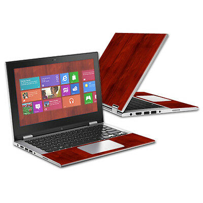 """Skin Decal Wrap for Dell Inspiron i3147 11.6"""" cover sticker Cherry Wood"""