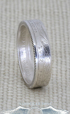 2012 Silver Proof ATB Quarter Coin Ring PR NM ME HI AK Wedding Band State Parks