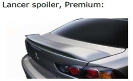 Genuine NEW Mitsubishi Lancer Spoiler CJ 2006-2013 MR936525 - Mystic Blue