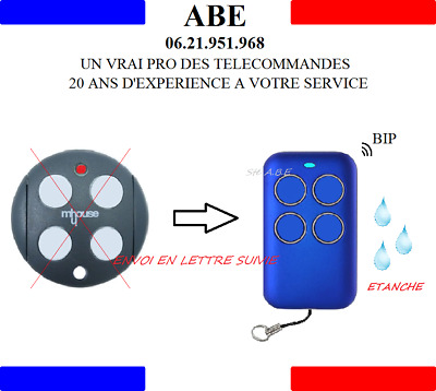 Telecommande Multifrequence Copieuse Mhouse Moovo Tx3 Tx4 Gtx4  Mt4