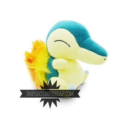 POKEMON CYNDAQUIL PELUCHE 155 pupazzo x Typhlosion Hericendre Feurigel Quilava