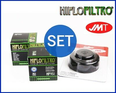 2x Hiflo Oil Filter HF951 + cap wrench Honda SW-T 400 A FJS Silverwing ABS
