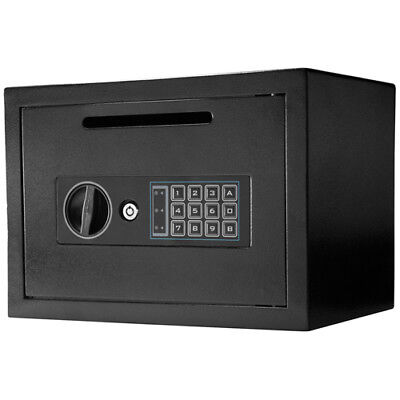 Barska Compact Keypad Depository Safe w/ Drop Slot & Back up Keys, AX11934