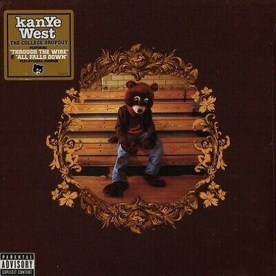Kanye West College Dropout vinyl LP brown cover NEW/SEALED