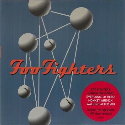 Foo Fighters Colour And The Shape vinyl 2 LP + download NEW/SEALED