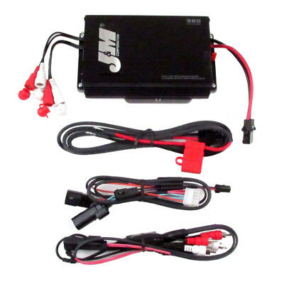 J&M Audio 360 Watt 4 Channel Performance Amp Kit 2015 & Newer Harley Road Glide