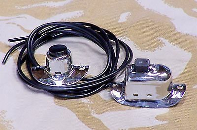 Knucklehead, Panhead, B.T. Flathead Chrome Handlebar Switches. [3]