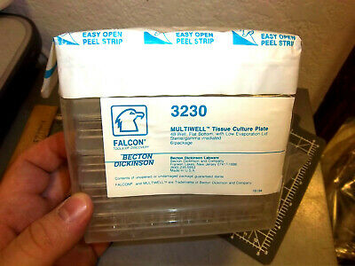 pack of 6 BECTON DICKINSON 3230 48 well TISSUE CULTURE PLATES - NEW