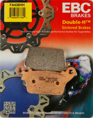 EBC Double-H Sintered Brake Pads Rear FA436HH 61-1437 1721-0652 15-436H 7676-120